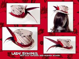 Lady Stripes - Riding Hat by Elemental-Sight