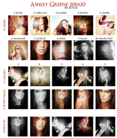 Ashley Greene 20in20 by memorabledesign