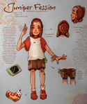 Digimon Character Design Contest: Juniper by KHMarie12