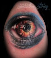 Monster Eye Tattoo by illogan