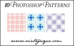 Photoshop Patterns Set 1 by crystalsmile