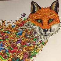 Animorphia colouring book by PixelnSprites