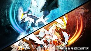 Pokemon Black and White 2 Desktop Wallpaper by Pheonixmaster1
