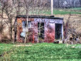 Rusty Shed by jim88bro