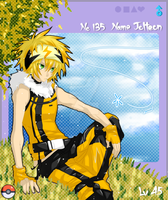 PKMN Gijinka No.135- Jolteon by Inucat