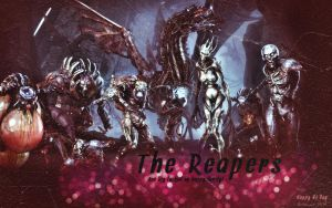 N7 Day - Reapers by Belanna42