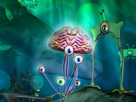 Brain Jumping by suz3d