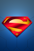 New 52 Superman - iPhone 4s by BadlyDrawnDuck