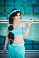 Princess Jasmine Cosplay by allieolson