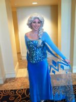 (almost) Finished Elsa cosplay by NostalchicksCosplay
