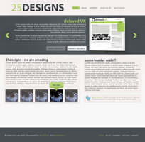 Original 25designs template by jackinnes
