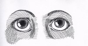 More (realistic?) eyes by UndertakerisEpic