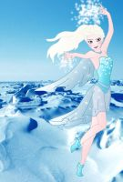 Disney Superheroes: Elsa by Willemijn1991