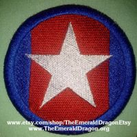 City Of Heroes / Villains - Statesman / Hero Patch by Aliora9of9