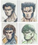 Sketch Cards by MikeVanOrden