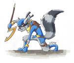 Sly Cooper from Thieves in Time by mikiXtheXgreat