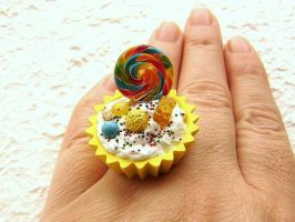 Lemon Dreams Ring by souzoucreations
