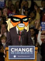 Brak Obama by kidesenhos