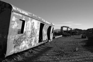Train Cemetery 1 by 100-days