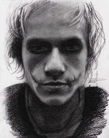 Heath Ledger / Joker by phantosmagoria
