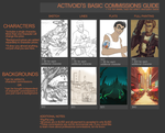 2013 COMMISSIONS GUIDE by Activoid