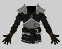 Witcher-Inspired Armor Concept by ImsumDave