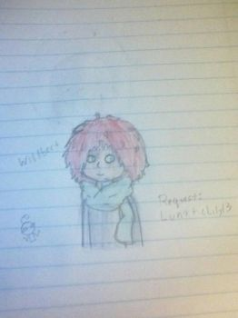 drawing request #2:  Willbert by GhostlyTheRobot