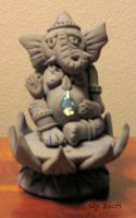 Ganesh Incense Burner by pangaeastarseed