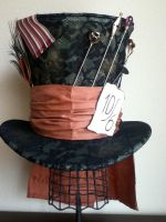 Mad Hatter Hat Replica by PandoraLuv