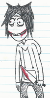 Jeff the killer by Coolskylerman
