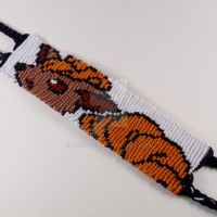 Vulpix 1.25 inch Friendship Bracelet by CarrieBea
