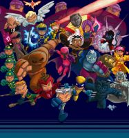 Marvel mania by Tyrannus by soulrailer