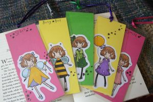 Milly Bookmarks by tea-bug