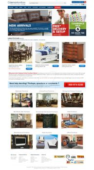 Home Page - Coleman Furnitures by Tamuir