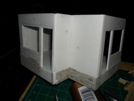 Les Shoppes Dollhouse Project: WIP 5 by kayanah