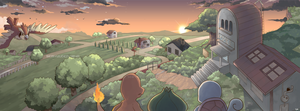 A Place Called Pallet Town by seiryuuden