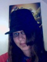Me with my fedora by AlphonseElric411
