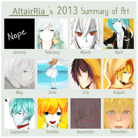 Summary of Art 2013 by AltairRia