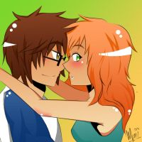 James and Lily: eh by Sirio12