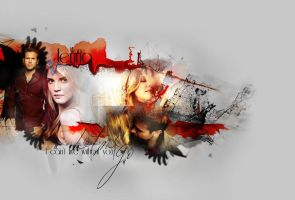 Alaric and Jenna The Vampire Diaries by Miss-deviantE