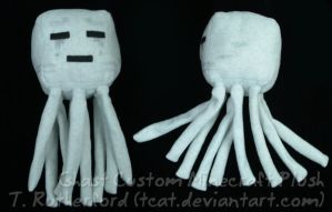 Plush - Minecraft Ghast by tcat