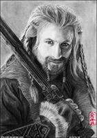 Fili (Dean O'Gorman) by ElliCrown