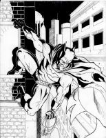 Batman hanging out by RadPencils