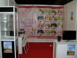 our humble booth by NCH85