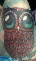 Skin Owl by madibell