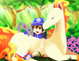 Request: Poke trainer Aile by Mitsukiven