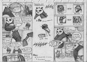 Kung Fu Panda Comic Cp. 1 page 7 and 8 by NeoMakusha