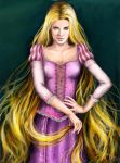 Real Princess: Rapunzel by LiberianGurrl