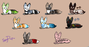 Adoptable Batch 2 by soyPup