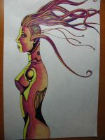 Cyborg Chick: Colour by sc-campbell